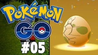 Pokemon GO Part 5 - EGG HATCHING, EVOLVING, CATCHING! Gameplay Walkthrough