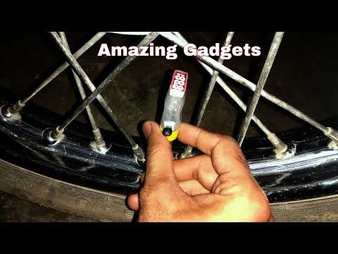 Make Led wheel lights for bike | Amazing homemade gadgets innovations for bike