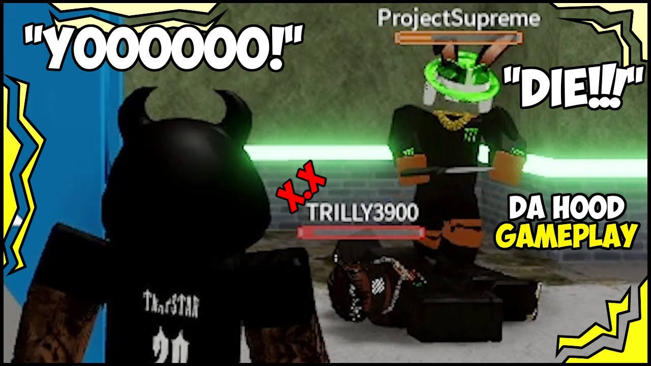 I TRICKED PROJECTSUPREME IN ROBLOX AND THIS HAPPENED... 😱