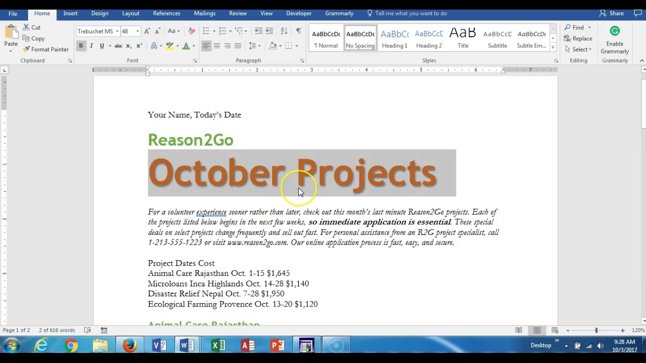 New perspectives excel 2016 module 3 textbook project