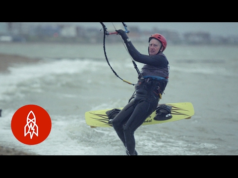Keep Up With The 77-Year-Old Kitesurfer