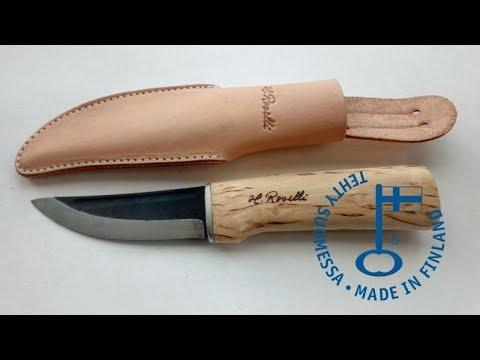 Puukko knife #6 from Finland - Roselli Hunter R100