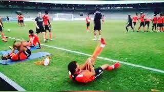 India football training Mumbai 2018