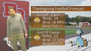 Bridgewater Weather - November 20th, 2018