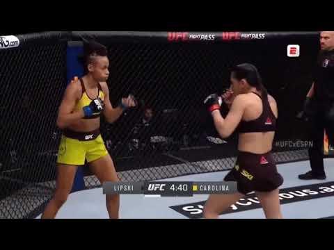 Ariane Lipski vs Luana Carolina - Full Fight Highlights   UFC Fight Night (July 18, 2020)