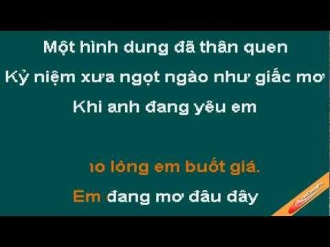 Ngo Nhu La Giac Mo Karaoke - Khanh Ngoc - CaoCuongPro