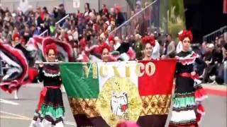 Banda musical de Mexico presente en el desfile de las rosas 2017 - 128TH ROSE PARADE 2017