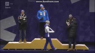 Iivo maailmanmestari 2017 Palkintojenjako