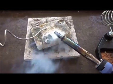how to clean your soldering iron tip with cat kerr youtube. Black Bedroom Furniture Sets. Home Design Ideas