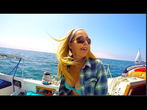 Girl Sailing North Ep 4-Channel Island Harbor to Santa Cruz