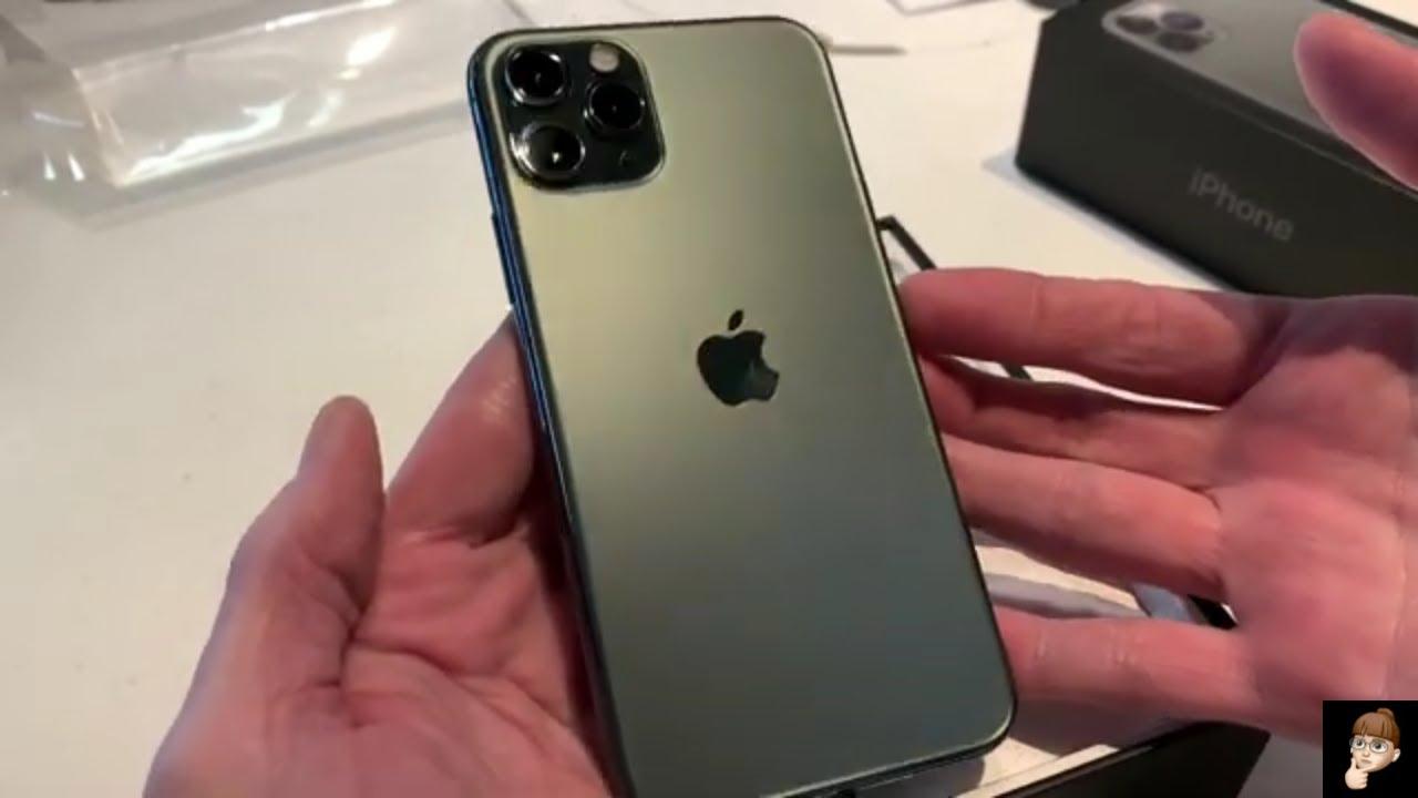 Quick Unboxing iPhone 11 Pro 256GB Midnight Green iPhone11Pro  MidnightGreen