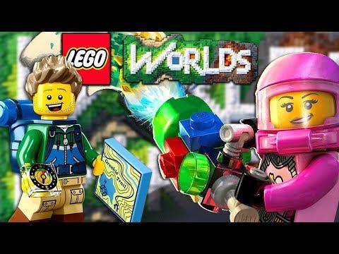 #3 LEGO Worlds Прохождение Игры - Nintendo Switch - Игра про Мультики ЛЕГО - КокаПлей