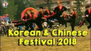 Korean & Chinese Festival 2018 in Calgary
