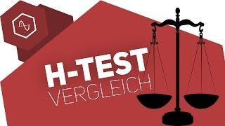 Unterschiede Hypothesentest (rechtsseitig / linksseitig) - Test erkennen