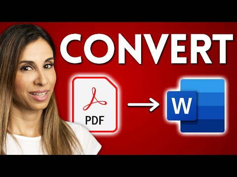How To EASILY Convert PDF to Word   True and Scanned PDF