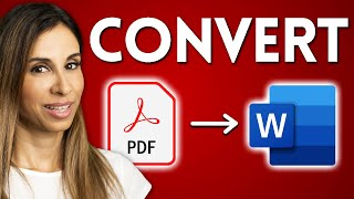 How To EASILY Conטert PDF to Word | True and Scanned PDF