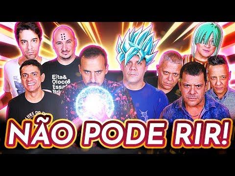 NÃO PODE RIR - DRAGON BALL c Wendel Bezerra Tânia Gaidarji Felipe Grinnan Wellington Lima e
