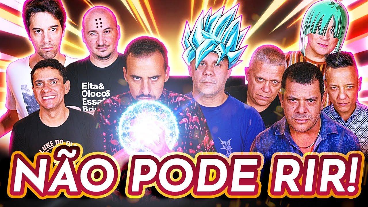 CASTRO BROTHERS - NÃO PODE RIR! - DRAGON BALL c/ Wendel Bezerra, Tânia Gaidarji, Felipe Grinnan, Wel