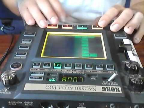 Korg Kaossilator Pro Jam Organic Electronica