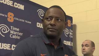 Syracuse football coach Babers Clemson postgame press conference