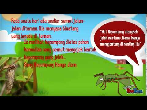 Media Pembelajaran Teks Cerita Fabel Khamila Sa