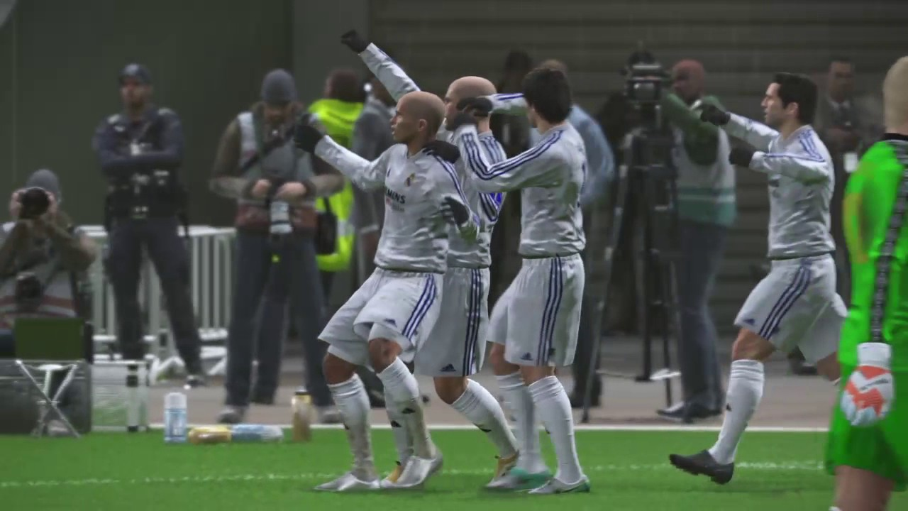 low priced 35e66 7ab39 PES 2017 REAL MADRID 2002 Download at www.Peskits.Net Shop