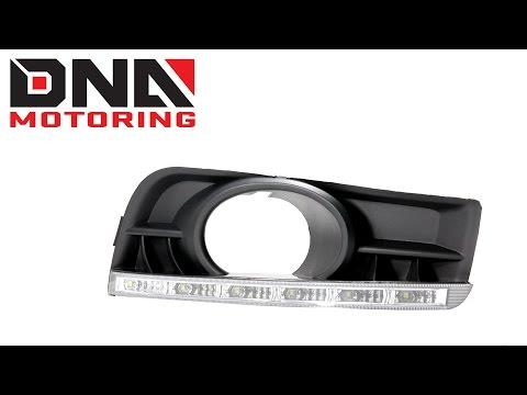 DNA Motoring 10-12 Chevrolet Cruze J100 OE Chrome Housing Fog Lights