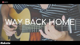 WAY BACK HOME - (SHAUN 숀) Guitar Solo (Fingerstyle)