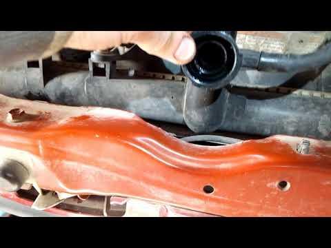 сузуки лиана замена радиатора