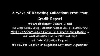 How i fixed credit fast removed collections charge off and adverse accounts 30 days secret ...