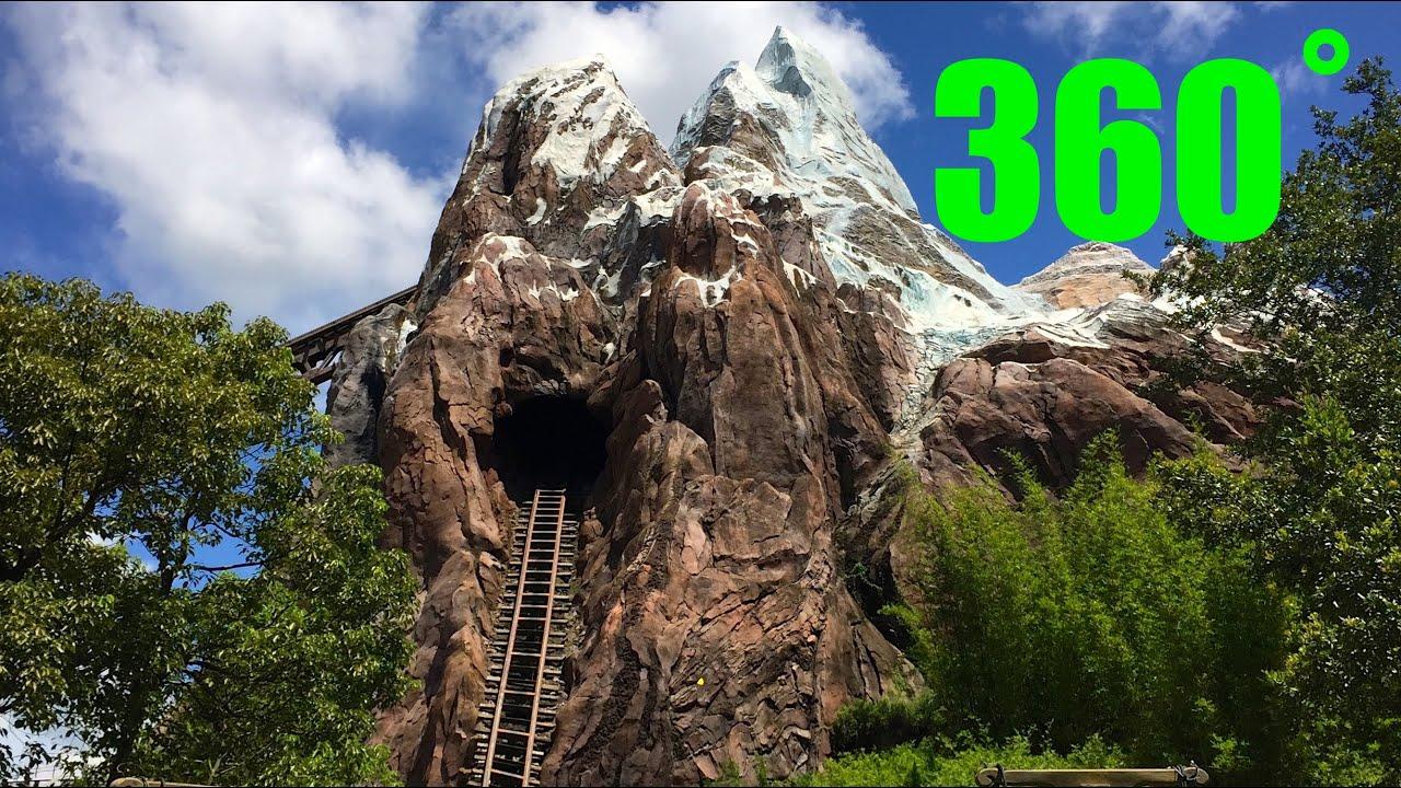 Expedition Everest INTERACTIVE 360˚ HD Animal Kingdom Walt ...
