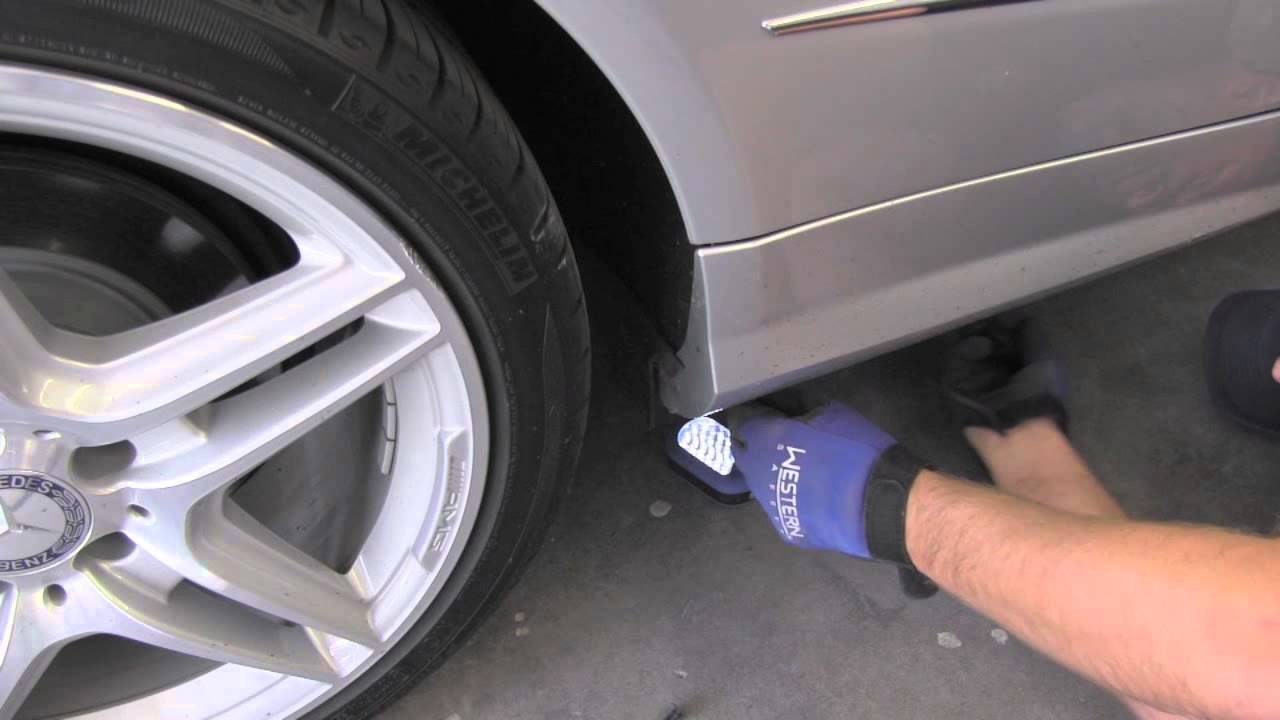 Replacing Rocker Panel Mercedes E550 Youtube
