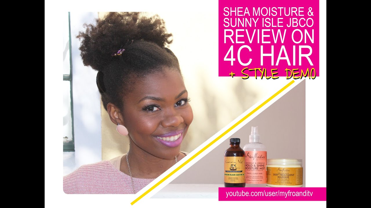 Shea Moisture Amp Sunny Isle JBCO Review Style Demo YouTube