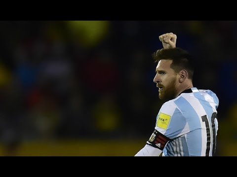 Ecuador vs Argentina FULL Match 101017 World Cup Qualifying Russia 2018