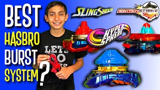 BEST Beyblade Burst System? HyperSphere | SlingShock | SwitchStrike | Hasbro Turbo Rise Episode