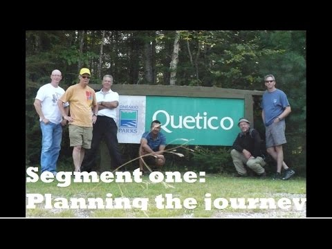 Quetico Canoe Trip 2012 - Planning the journey