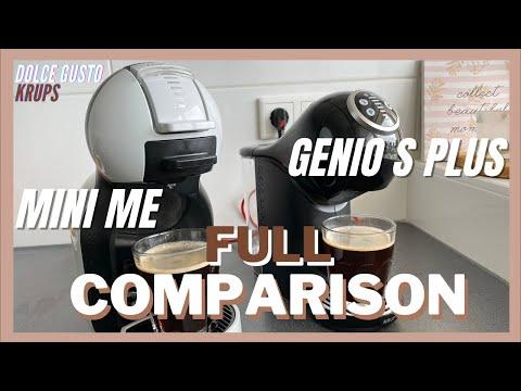 MINI ME VS GENIO S PLUS FULL COMPARISON | DOLCE GUSTO KRUPS COFFEE MACHINES