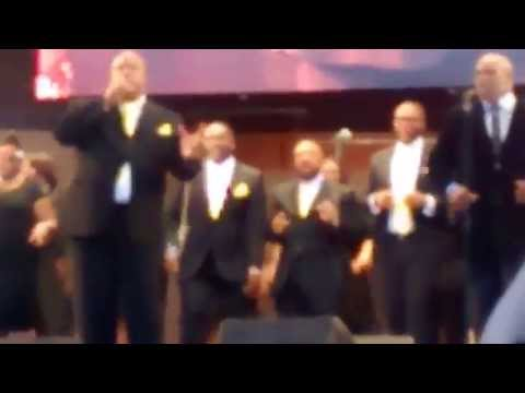 Mark Hubbard and The Voices at Chicago Gospel Fest 2015