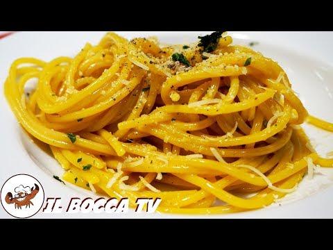 532 - Spaghetti uova e acciughe, dice piallino le rughe! (primo piatto di pesce semplice e sfizioso)
