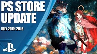 PlayStation Store Highlights - 20th July 2016