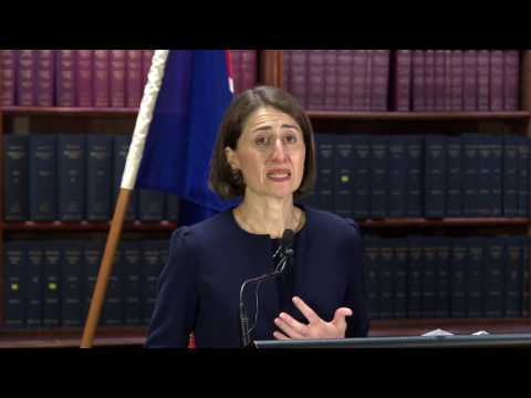 Gladys Berejiklian becomes the 45th Premier of NSW