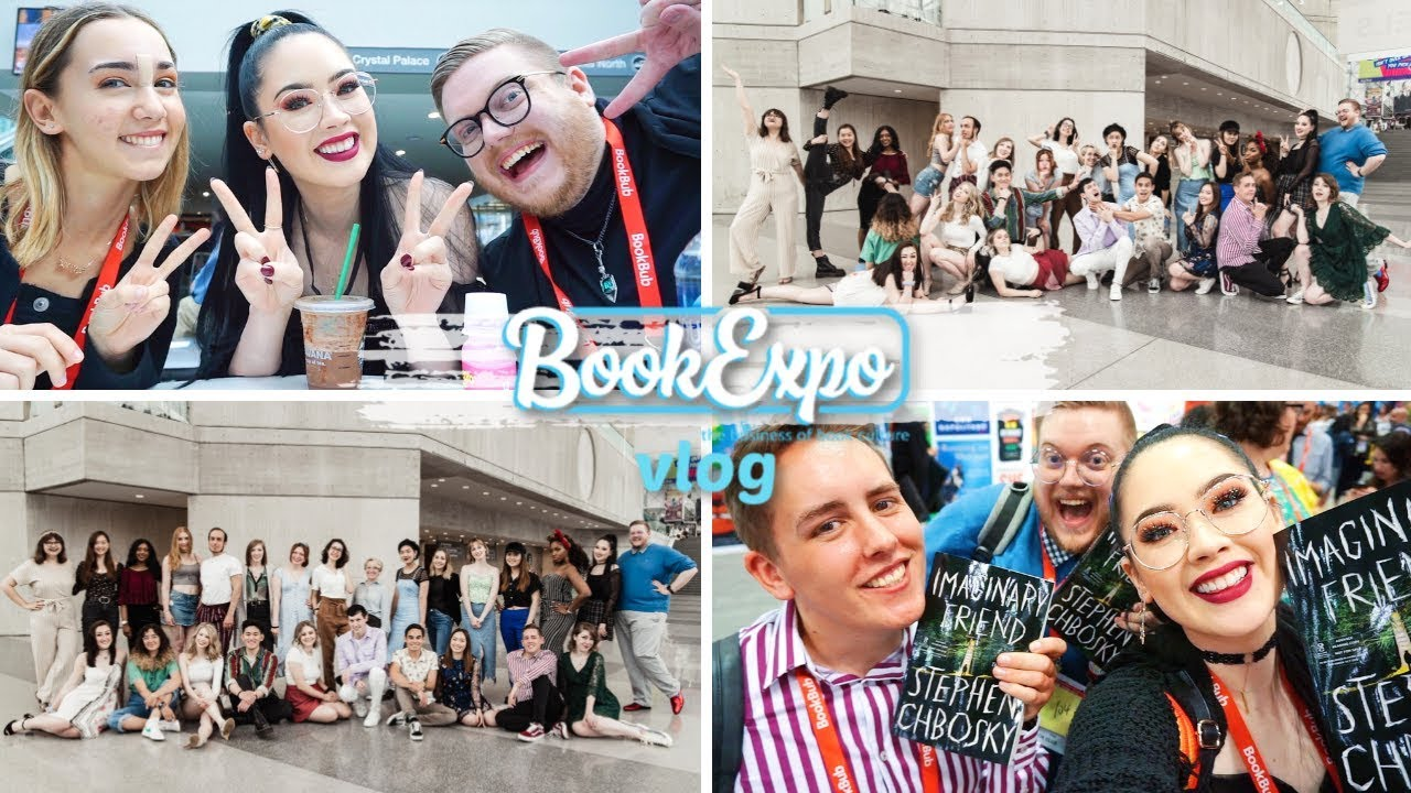 123d49120f7df A VERY CHAOTIC BOOKEXPO VLOG | Getting ARCs, Friends & Laughing Too Much