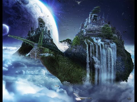 Tutorial-The Kingdom of Snail -II- Surreal-Fantasy-  Landscapes & Scenery  #Photoshop -Manipulation