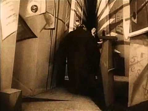 a comparison of the cabinet of dr caligari by robert wiene and the last laugh by f w murnau
