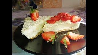 Чизкейк  без выпечки/ Cheesecake