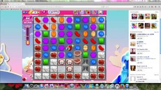 Candy Crush Saga Level 888 with system bug can't clear obstacle