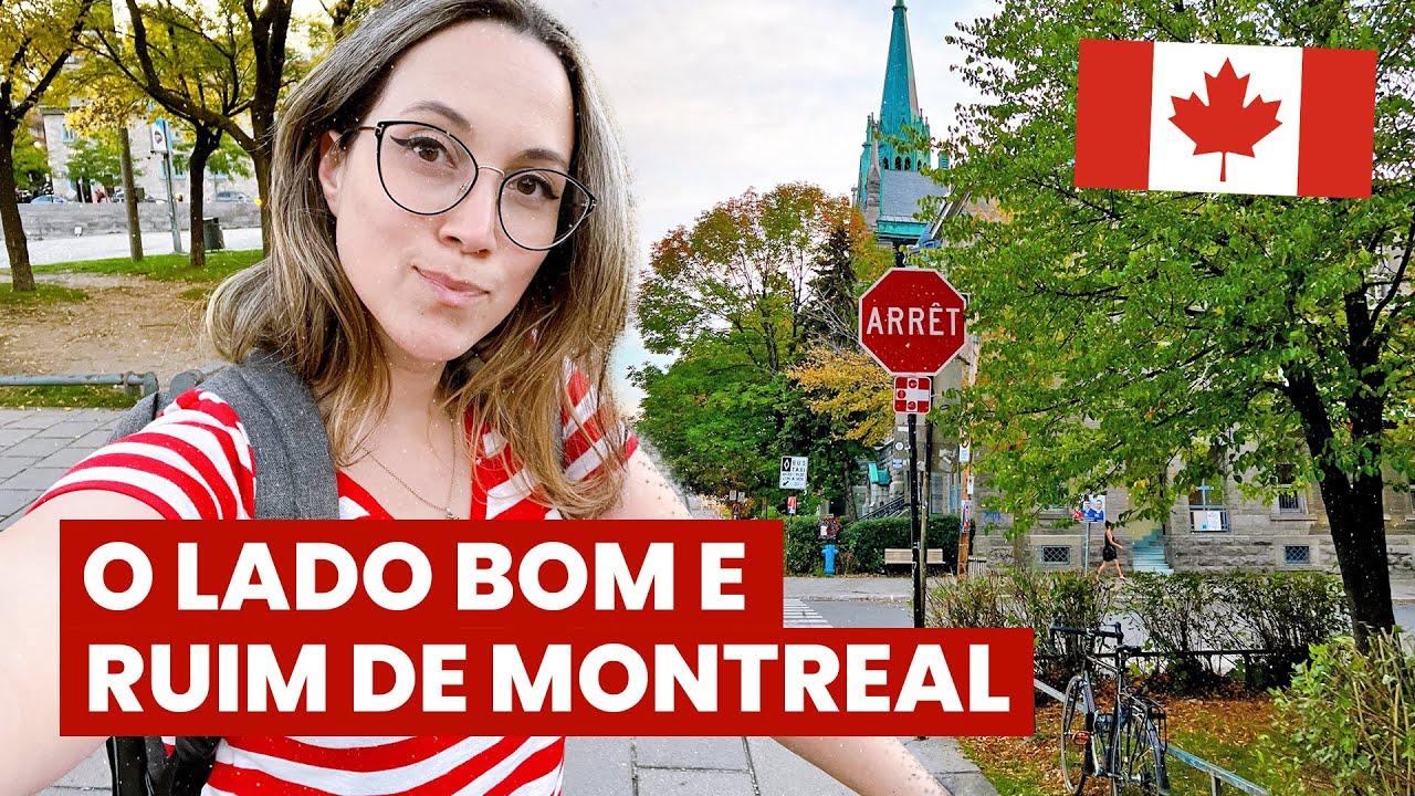 1 MÊS em MONTREAL: impressões sobre a cidade! 👀O lado BOM e o RUIM + passeio pela região central