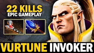 They Don't Know That They're Facing Vutune Invoker REBORN - EPIC INVOKER 22 Kills | Dota 2 Invoker