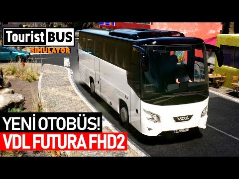 YENİ OTOBÜS VDL! - Tourist Bus Simulator VDL Futura FHD2 Otobüs DLC'si!  