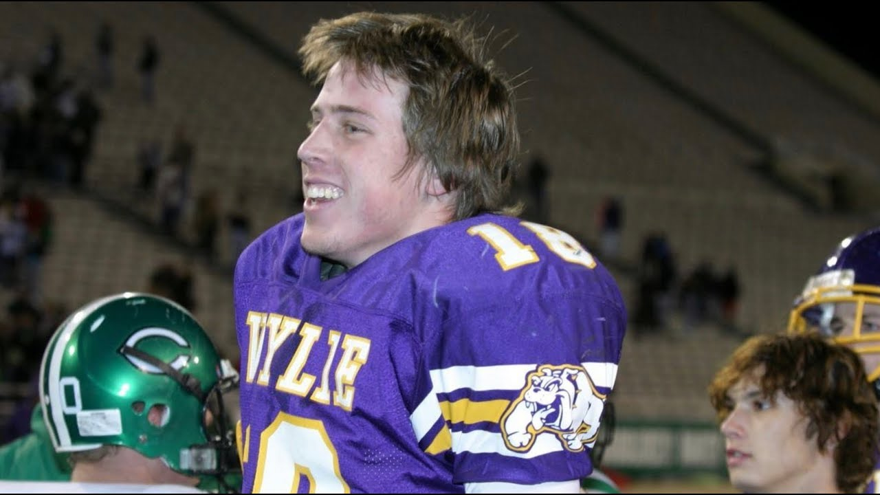 Case Keenum 2004 Texas High School Championship Wylie Bulldogs